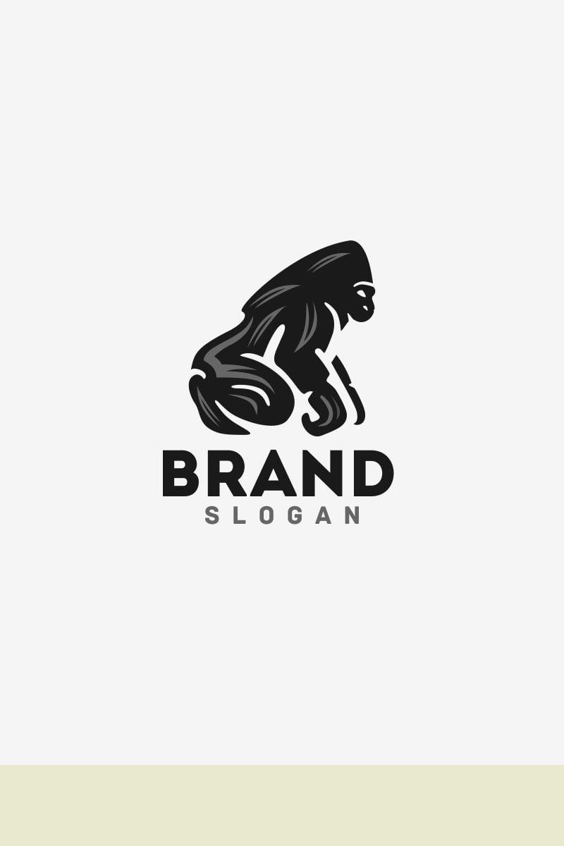 gorilla logo template  67775