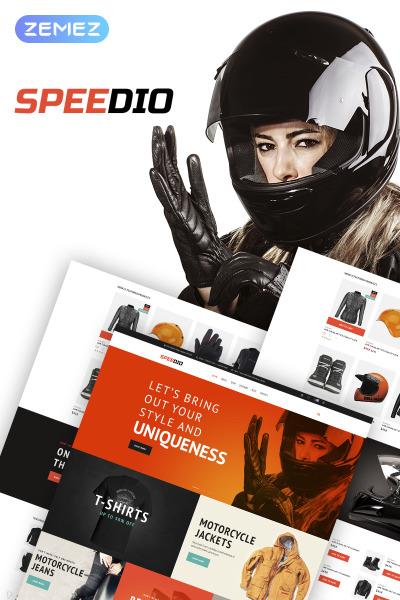 Speedio - Responsive Cars & Motorcycles Equipment Store