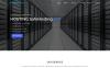 "Tema Siti Web #67746 ""Safe Hosting  - Multipage"" Screenshot grande"