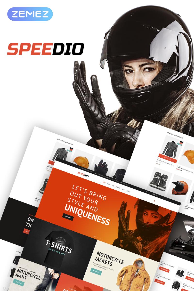 "Tema WooCommerce ""Speedio - Responsive Cars & Motorcycles Equipment Store"" #67736"