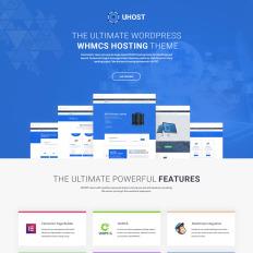 17+ Best WordPress Hosting Themes 2018 | TemplateMonster