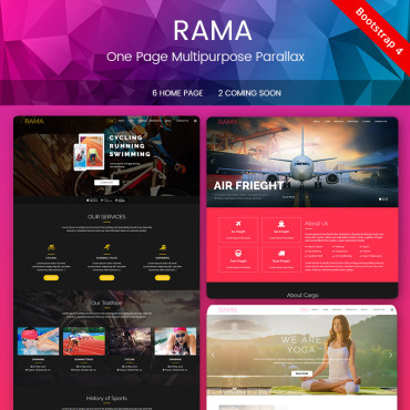 Preview image of RAMA - One Page Multipurpose Parallax