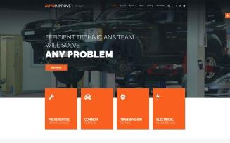 Autoimprove - Car Repair Multipage Creative Joomla Template