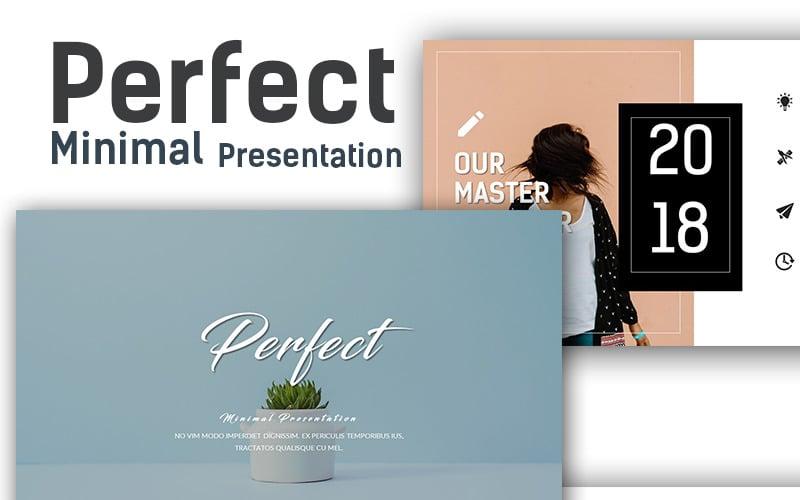 Perfect - Minimal Presentation PowerPoint Template