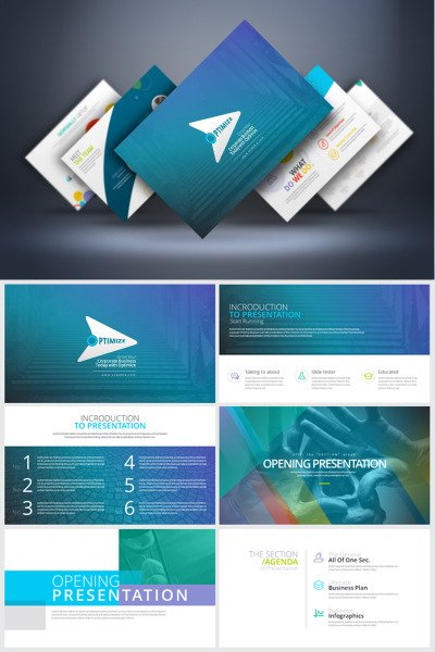 Business - Clean PowerPoint Template #67872