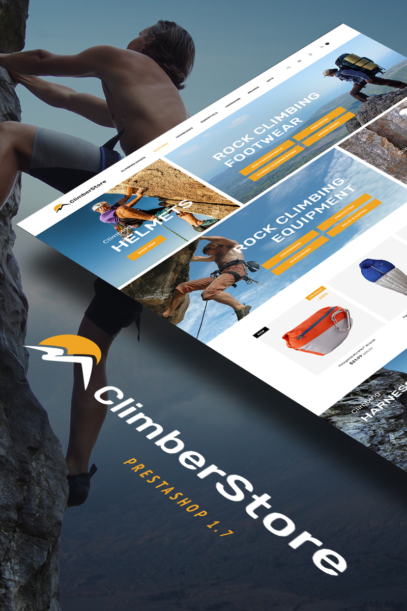 ClimberStore - Climbing higher PrestaShop Theme