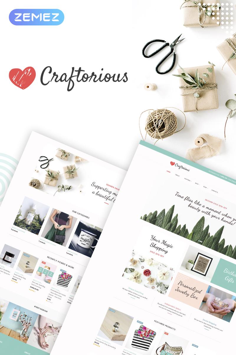 Craftorious - Handmade Gift Store WooCommerce Theme