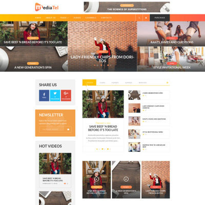 11 best videographer wordpress themes 2018 templatemonster for News aggregator template