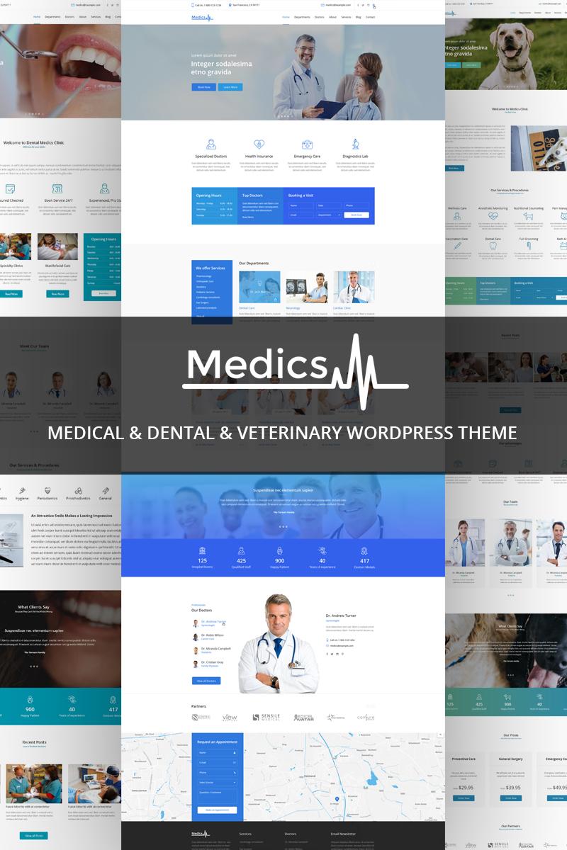 Medics - Medical & Dental & Veterinary WordPress Theme - screenshot