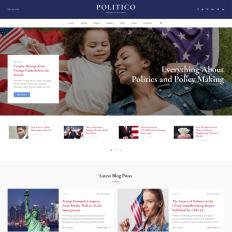 politico political magazine multipage html5