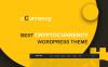 Responsive CCurrency Cryptocurrency Wordpress Teması New Screenshots BIG