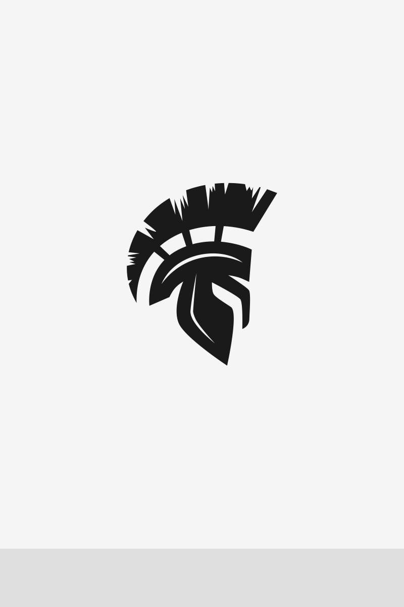 spartan logo template  67890