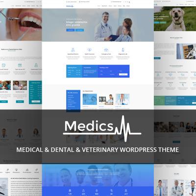 Tema de WordPress #64127 para Sitio de Odontología
