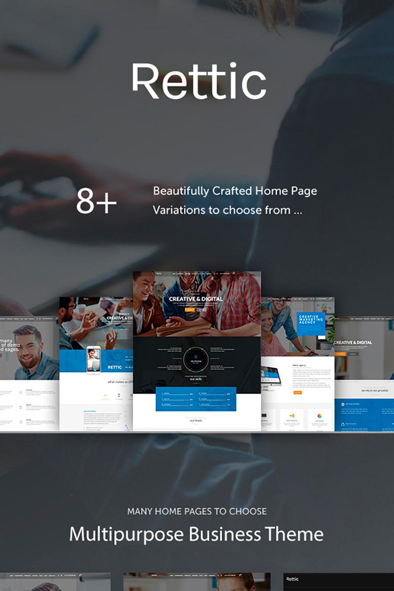 "Tema De WordPress ""Rettic - Creative Agency"" #67878"