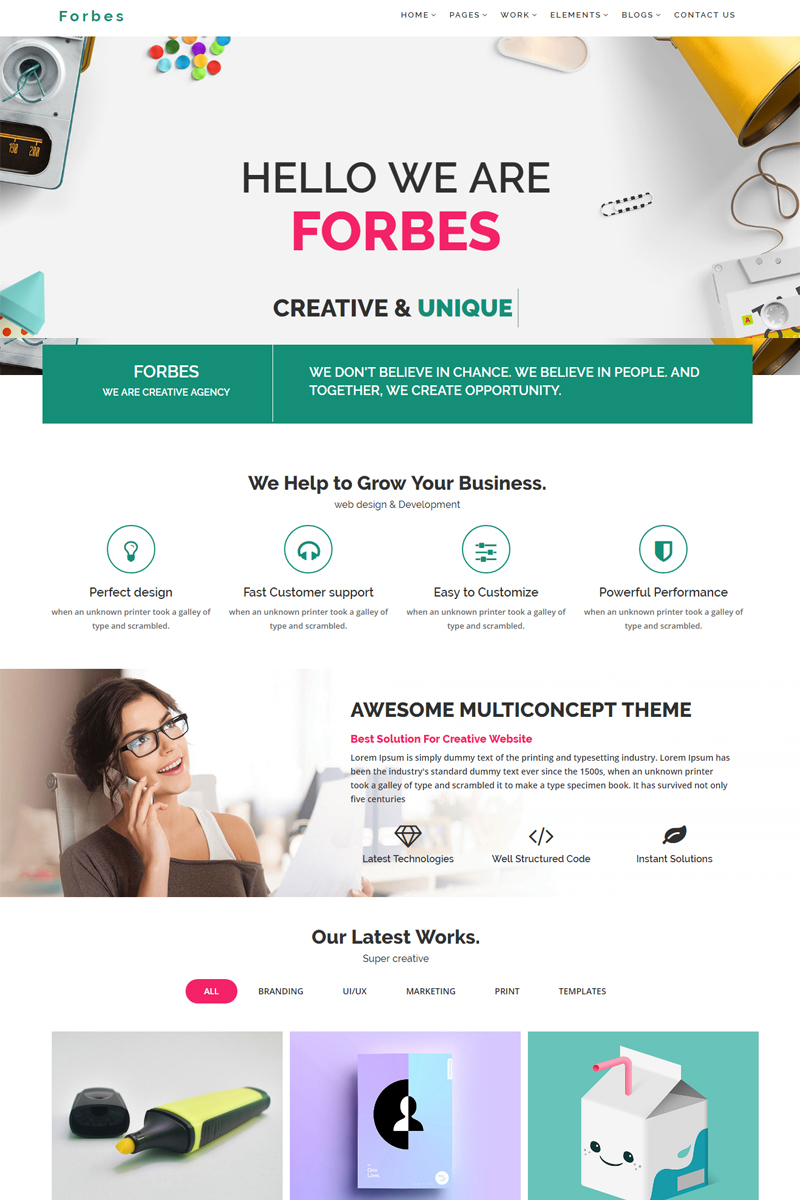 Website template 67923 agency bootstrap business custom website website design template 67923 business company corporate creative responsive multipurpose flashek Image collections