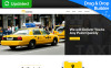 Responsivt Taxi and Cab Booking Landing Page-mall New Screenshots BIG