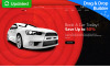 Responsivt Car Rental MotoCMS 3 Landing Page-mall New Screenshots BIG