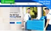 Responsivt Packing and Moving Company MotoCMS 3 Landing Page-mall New Screenshots BIG
