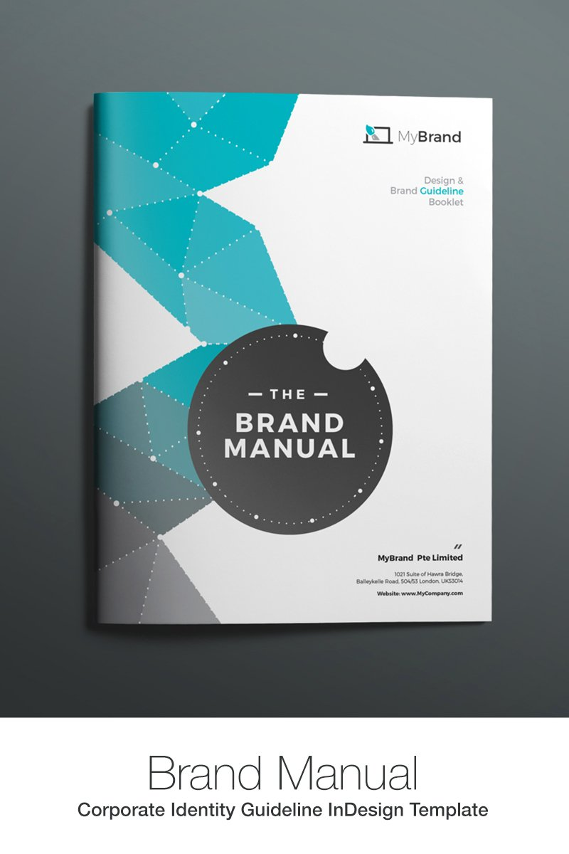 brand manual corporate identity template  67908