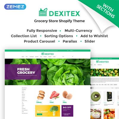 Best Food Restaurant Shopify Themes TemplateMonster - Free online invoice templates vegan online store