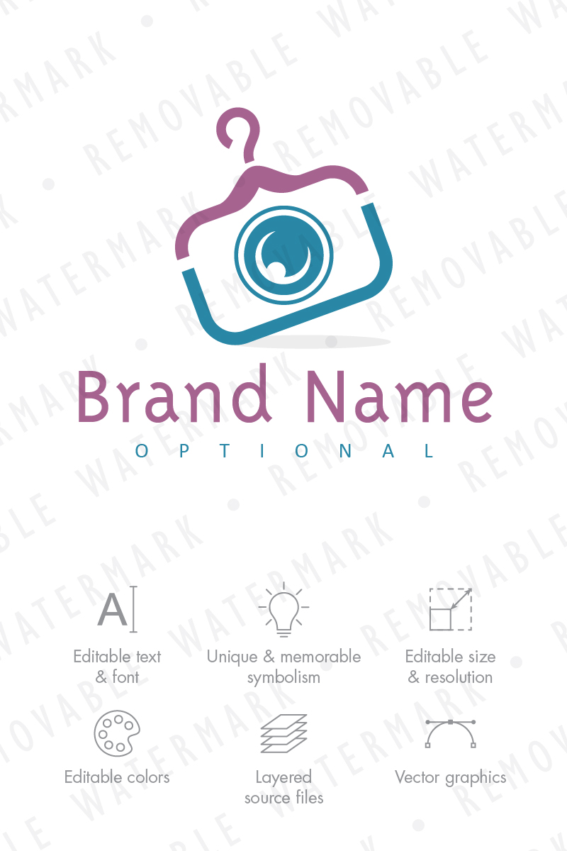 Fashion Photography - Logo Template #67949