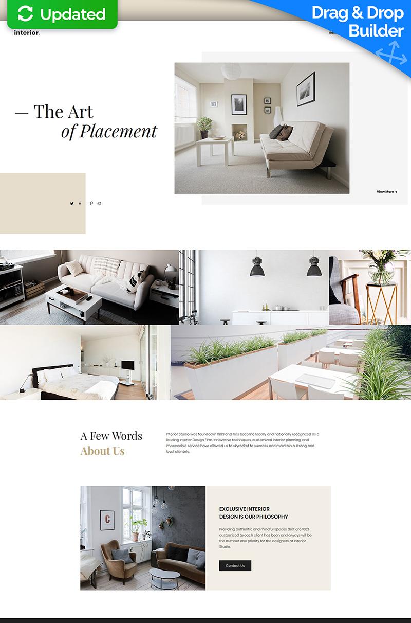 Interior Design MotoCMS 3 №67962
