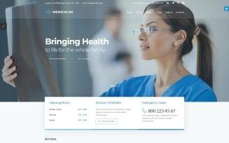 Medicalog - Efficient Medical Center Joomla Template