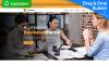 "Modello di Landing Page Responsive #67967 ""Businezz - Consulting Firms"" New Screenshots BIG"