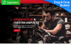Motorcycle Repair Company MotoCMS 3 Landing Page Template New Screenshots BIG