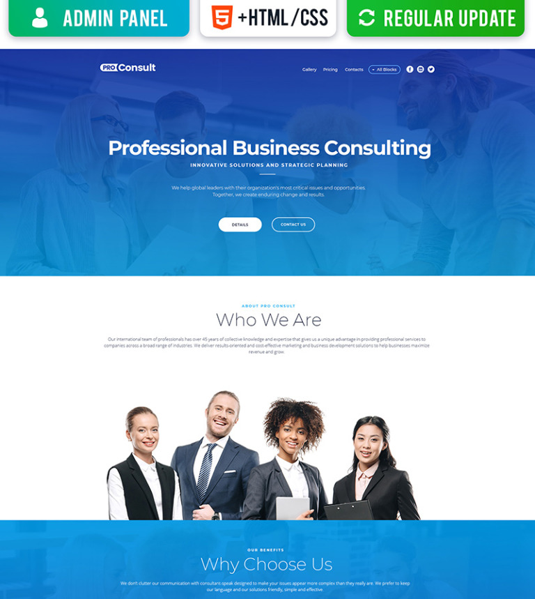 Pro consult business motocms 3 landing page template 67953 pro consult business motocms 3 landing page template new screenshots big flashek Gallery