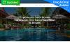 """Resortio - Premium"" modèle Moto CMS 3 adaptatif New Screenshots BIG"