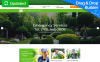 "Responzivní Moto CMS 3 šablona ""Jardinier - Landscape Design"" New Screenshots BIG"