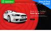 "Responzivní Šablona mikrostránek ""Car Rental MotoCMS 3"" New Screenshots BIG"