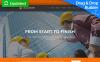 Reszponzív Építőipari vállalatok témakörű  Moto CMS 3 sablon New Screenshots BIG