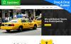 Reszponzív Taxi and Cab Booking Nyítóoldal sablon New Screenshots BIG