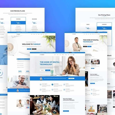 Business & Services Templates | TemplateMonster