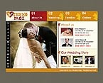 Flash: Personal Pages Flash Site Wedding Most Popular