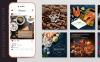 "Шаблон для соцсетей ""10 Clean Style Instagram Pictures"" Большой скриншот"