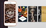 Clean Style Instagram Story Package Social Media