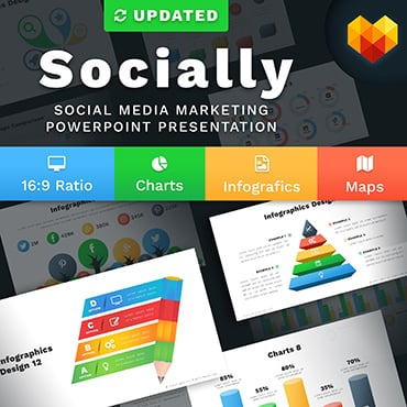 Preview image of Social Media Marketing Slides - Socially