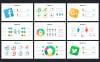 Szablon PowerPoint Social Media Marketing Slides - Socially #68041 Duży zrzut ekranu