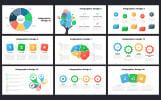 Szablon PowerPoint Social Media Marketing Slides - Socially #68041