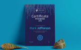 Certificate of Completion Certificate Template