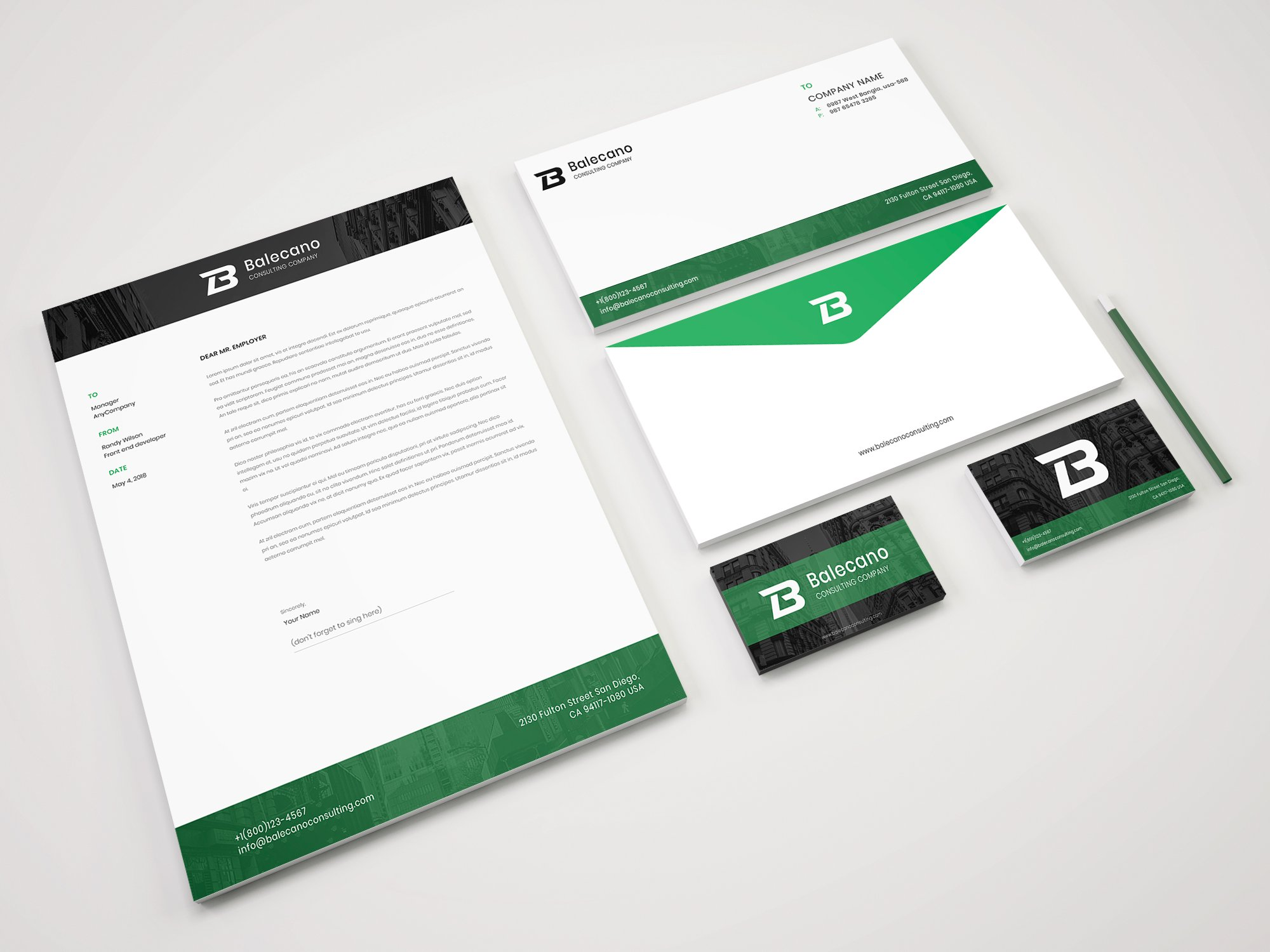 Business stationery corporate identity template 68049 business stationery corporate identity template big screenshot cheaphphosting Image collections