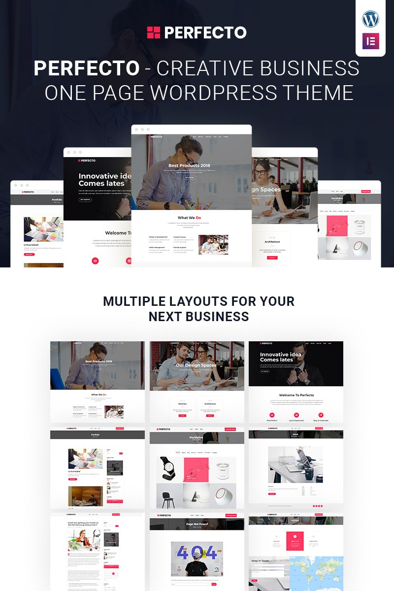 Website Design Template 68090 - agency corporate marketing service responsive retina wordpress onepager clean typography seo gpl license mobile multipurpose personal
