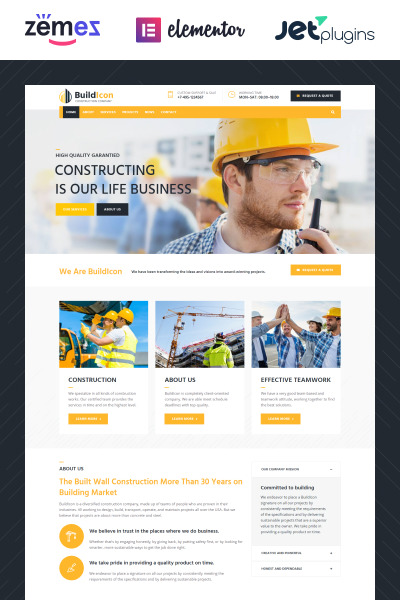 BuildIcon - Construction Company
