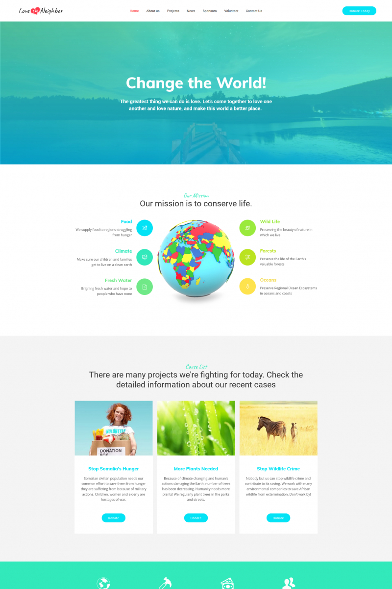 Business & Services Responsive MotoCMS 3 Template (Exclusive)