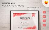 Certificate of Membership Certificate Template