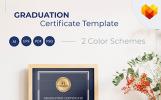 Graduation Sertifka Şablonları