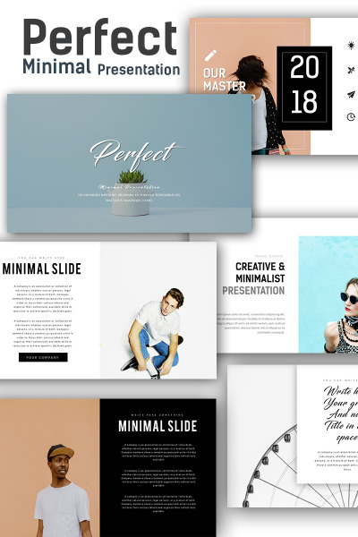 Perfect  Minimal Keynote Template